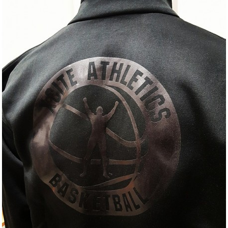 Blk on Blk Xcite AthleticS Shell Jacket