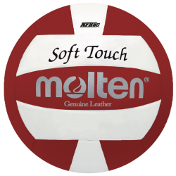 SOFT TOUCH VOLLEYBALL- RED