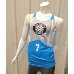 Womans Xcite Volleyball Tank Racerback